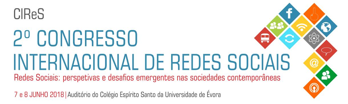 2.º Congresso Internacional de Redes Sociais (CIReS)